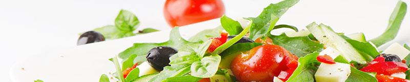 salat, bella sena, am zoo, italienisches restaurant